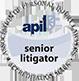 apil - Association of Personal Injury Lawyers - senior litigator