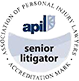 apil - Association of Personal Injury Lawyers - senior litigator