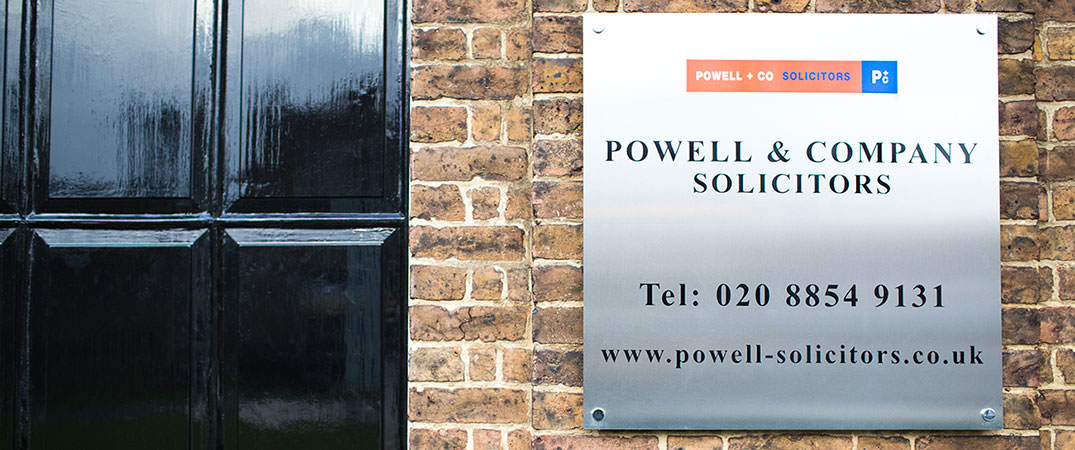 Powell & Co Solicitors LLP // Woolwich South East London SE18