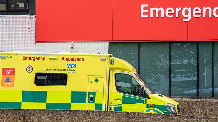 Ambulance service and Accident & Emergency claims